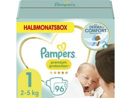 Pampers Windeln Premium Protection New Baby Groesse 1 Newborn 2 5kg