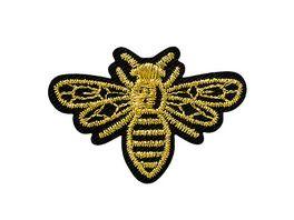 Mono Quick Buegelmotiv Mini Biene Gold