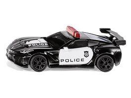 SIKU 1545 Super Chevrolet Corvette ZR1 Police