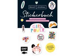 Bullet Journal Stickerbuch Girlpower