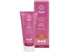 khadi Ayurvedisches Elixier Shampoo Rose Repair