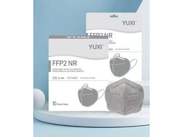 YUXI Filtering Half Mask FFP2 NR Grau