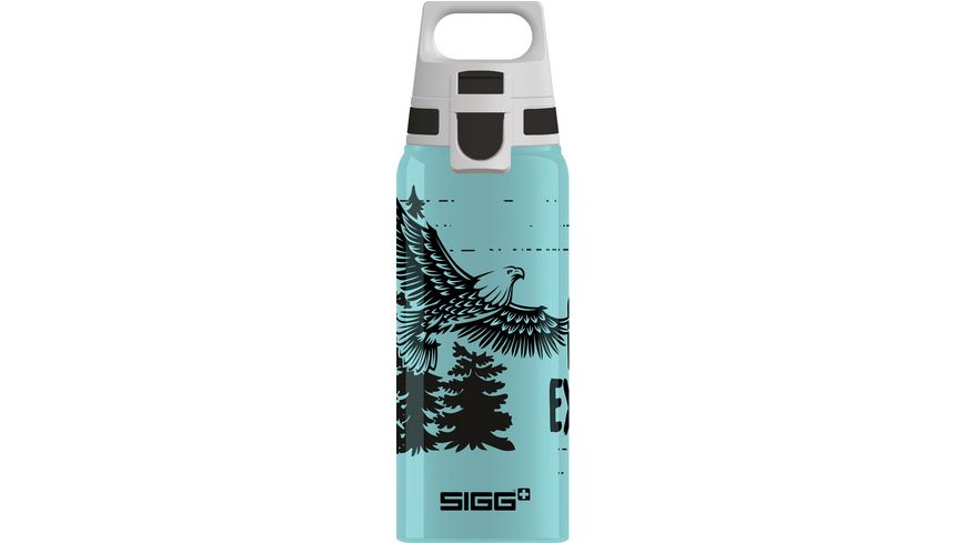 SIGG Kids Trinkflasche Aluminium WMB ONE Brave Eagle 0,6l