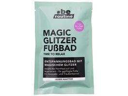 be routine Fussbad Magic Glitzer