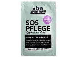be routine Fussmaske SOS Pflege