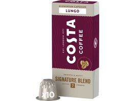 Costa Coffee Signature Blend Lungo Nespresso kompatible Kapseln