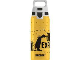 SIGG Kids Trinkflasche Aluminium WMB ONE Brave Bear 0 6l