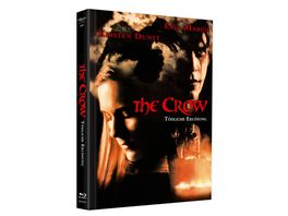 The Crow 3 Toedliche Erloesung Mediabook Cover B DVD