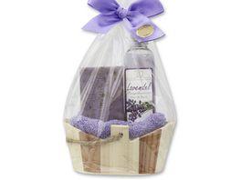 Florex Holzkorb Set Lavendel