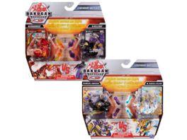 Spin Master Bakugan Armored Alliance Legendary Battles Starter Pack mit 2 Bakugan und ansteckbarem Baku Gear unterschiedliche Varianten