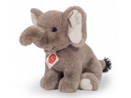 Teddy Hermann Kuscheltier Elefant sitzend 25 cm