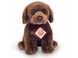 Teddy Hermann Kuscheltier Labrador sitzend dunkelbraun 25 cm