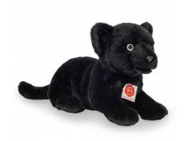 Teddy Hermann Kuscheltier Panther Baby sitzend 30 cm