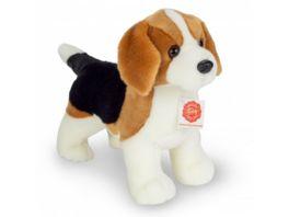 Teddy Hermann Kuscheltier Beagle stehend 26 cm