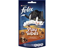 FELIX Katzensnack Play Tubes Huhn Leber