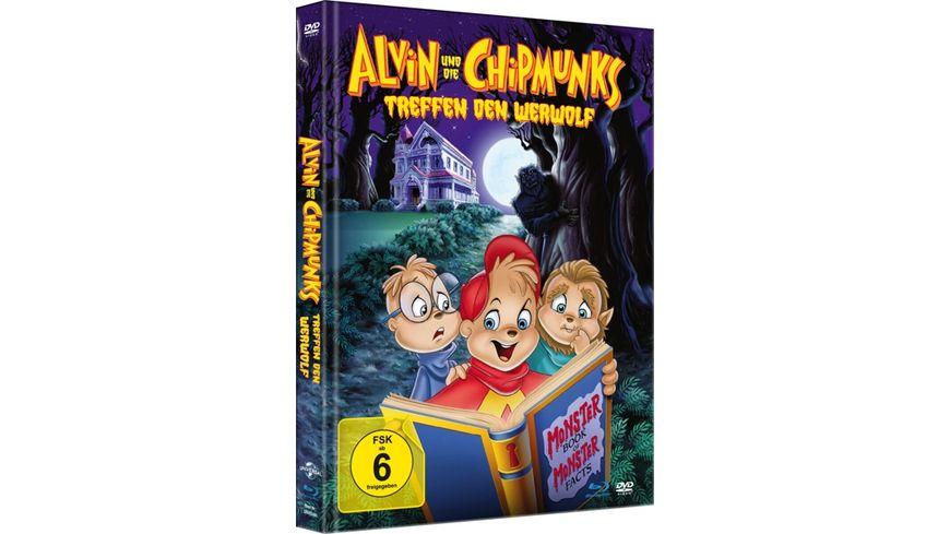 Alvin und die Chipmunks treffen den Werwolf - Limited Mediabook (+ DVD) (+ Booklet)