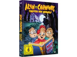 Alvin und die Chipmunks treffen den Werwolf Limited Mediabook DVD Booklet
