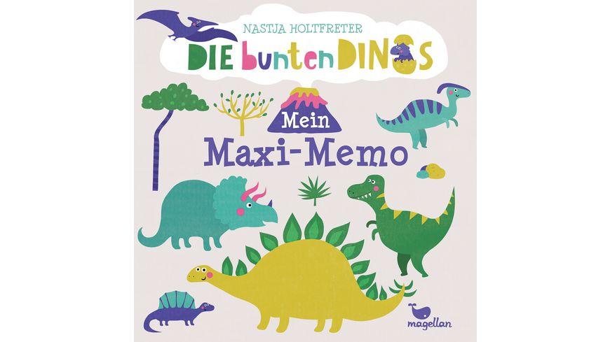 magelan Die bunten Dinos - Mein Maxi-Memo