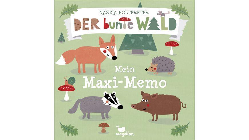 magelan Der bunte Wald - Mein Maxi-Memo