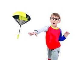 Guenther Flugmodelle PARACHUTE Fallschirm zum Werfen