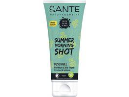 SANTE Duschgel Summer Morning Shot Bio Minze Bio Ingwer