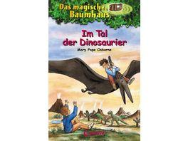 Das magische Baumhaus 1 Im Tal der Dinosaurier Kinderbuch ueber die Steinzeit fuer Maedchen und Jungen ab 8 Jahre
