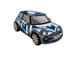 Mono Quick Buegelmotiv Midi Auto blau