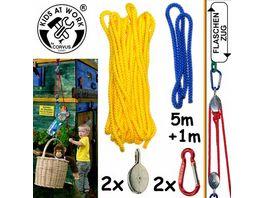 Corvus Flaschenzug mit Seil