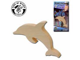 Corvus Holzrohling Delphin