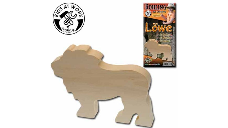Corvus Holzrohling Löwe