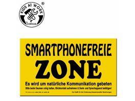 Corvus Schild Smartphonefreie Zone