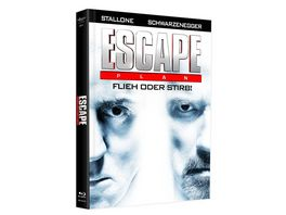 Escape Plan Mediabook Cover B DVD