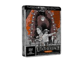 Leatherface Uncut 4K Ultra HD Blu ray Turbine Steel Collection