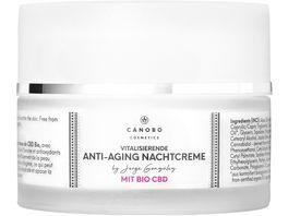 CANOBO Anti Aging Nachtcreme mit Bio CBD