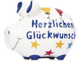KCG Sparschwein Herzlichen Glueckwunsch