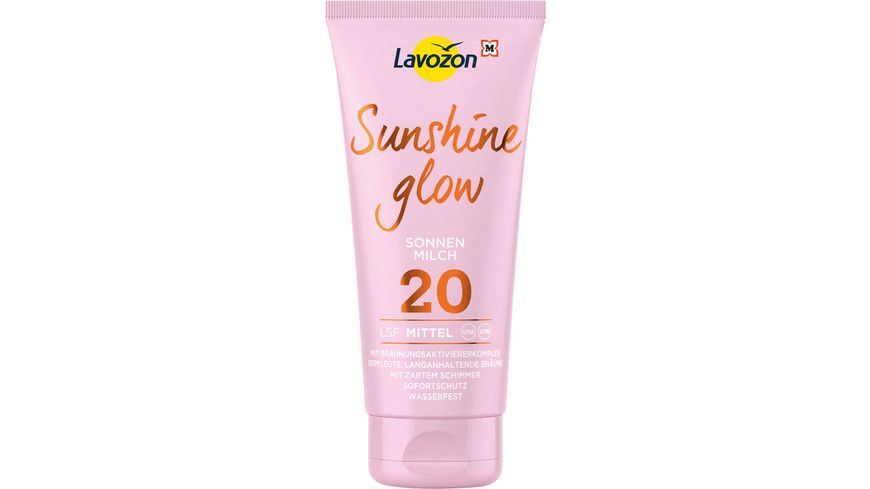 LAVOZON Sunshine Glow Sonnenmilch LSF 20