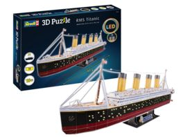 Revell 00154 3D Puzzle RMS Titanic LED Edition