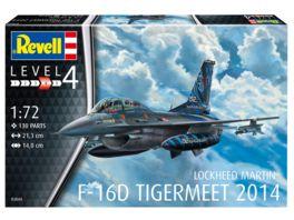 Revell 03844 Lockheed Martin F 16D Tigermeet 2014