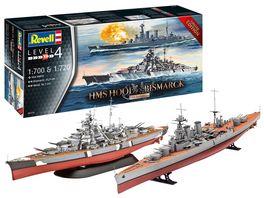 Revell 05174 HMS HOOD vs BISMARCK 80th Anniversary