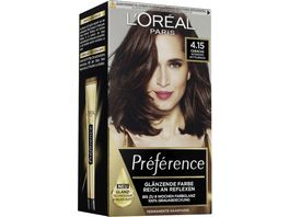 L OREAL PARIS Preference 4 15 Intensives Mittelbraun Caracas