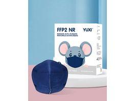 YUXI Filtering Half Mask FFP2 NR Blau Groesse S
