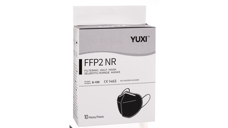 YUXI ® Filtering Half Mask FFP2 NR *Schwarz Größe S