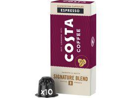 Costa Coffee Signature Blend Espresso Nespresso kompatible Kapseln