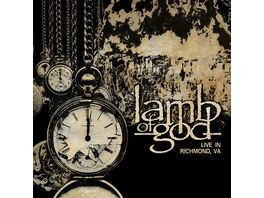 Lamb Of God Live In Richmond VA CD DVD Digipak