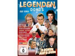 Legenden Dokus 9 Dokus auf 8 DVDs