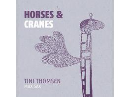 Horses Cranes