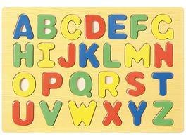 bartl Steckpuzzle ABC 105443