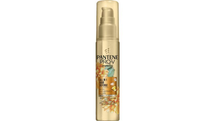 Pantene PRO-V Haarkur/Balsam/ Miracles All-in-1 Hair Defense Leave-In Creme 75ml