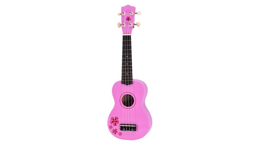 """Voggenreiter Mini-Gitarre (Ukulele) """"Pink Lady"""" 1059"""
