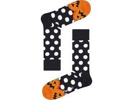 Happy Socks Unisex Socken Halloween Pumpkin
